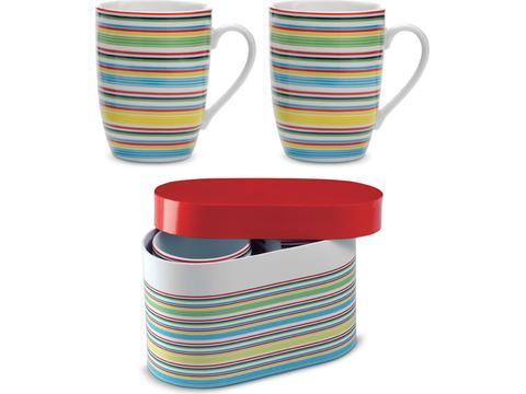 Set de 2 mugs