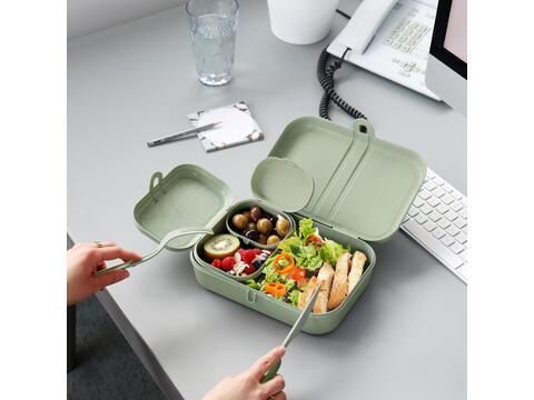 Koziol Pascal Ready - lunchbox set + bestek