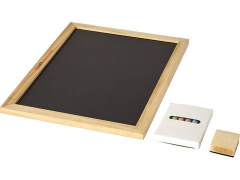 6-piece chalk and an eraser set