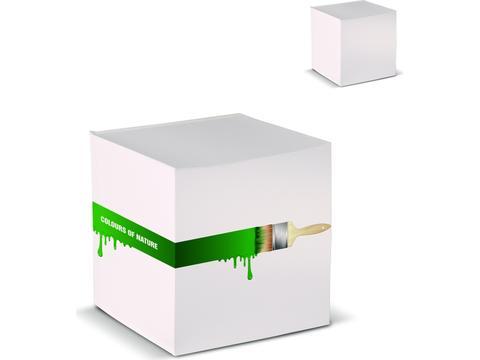 Kubusblok Recycled Papier 10x10x10 cm