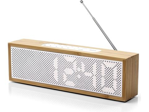 Titanium wekkerradio