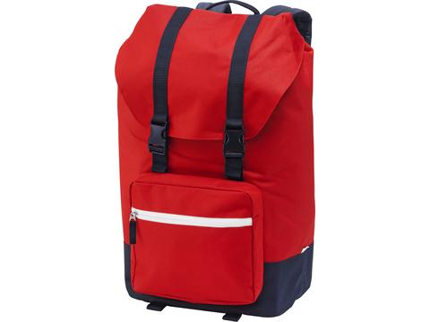 Oakland laptop flap backpack