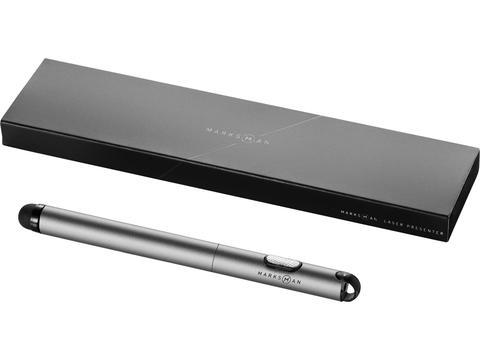 Laserpointer met balpen stylus