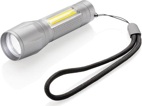 LED 3W focus zaklamp met COB