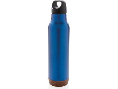 Lekvrije isoleer fles met kurk - 650 ml