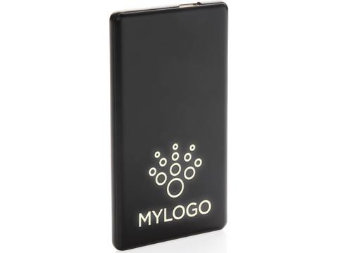Light up logo powerbank - 4000 mAh