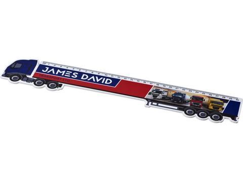 Règle Loki 30 cm en forme de camion