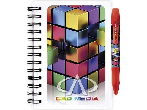 Bic notitieboeken met plastic omslag