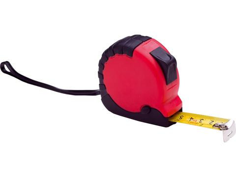 Tape measure with rubber grip