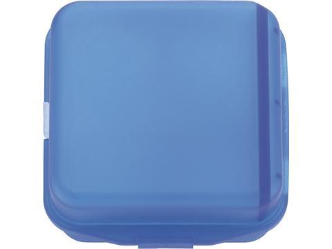 Multi compartment pill box