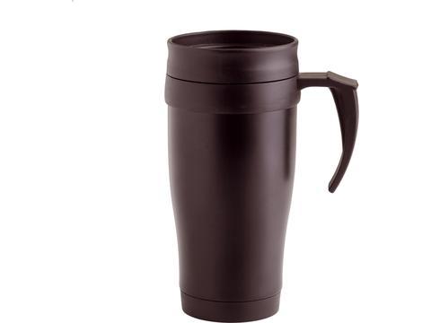 Insulated car mug
