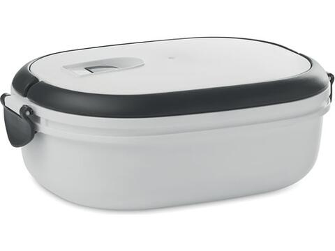 PP lunch box with air tight lid 20 x 14 x 6,5 cm
