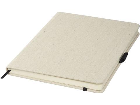 Luna A5 formaat canvas notitieboekje