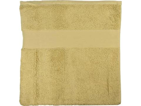 Luxe handdoek van organisch katoen 140 x 70 cm