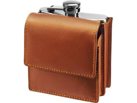 Stainless steel hip flask - 175 ml