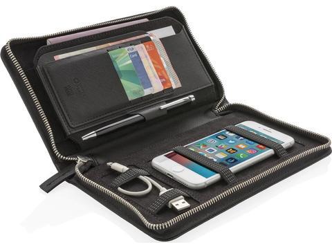 Luxe reisportemonnee met RFID-bescherming