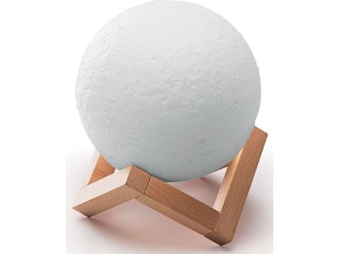 BT speaker moon shaped