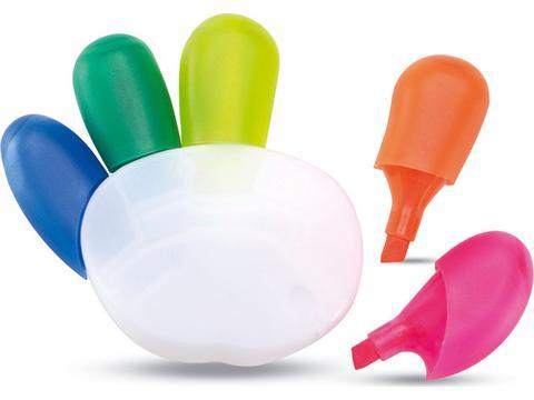 Surligneur 5 couleurs Colore Promo