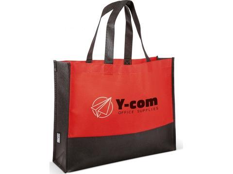 Non-woven colour block bag
