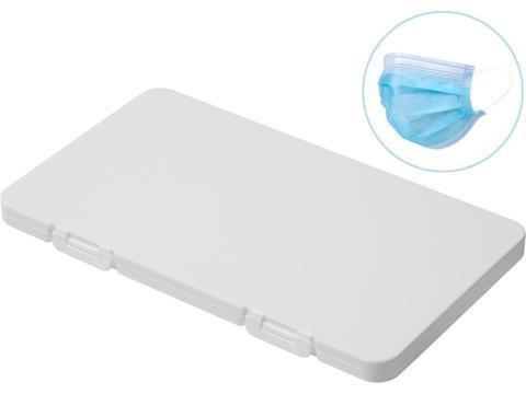 Mask-Safe anti-microbiële doos voor mondmaskers