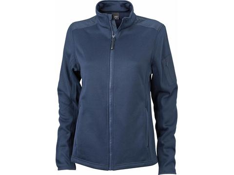 Gebreide Fleece Jacket