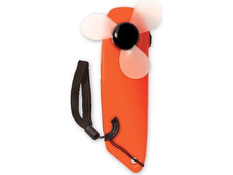Ventilateur et lampe torche