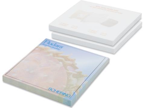 Memobladeren 7,2 x 7,2 cm - 100 vellen