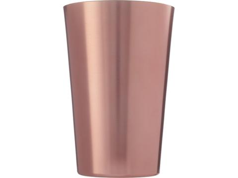 Metalen bierglas - 400 ml
