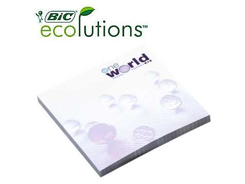Bic Ecolutions Sticky Note 7,5 x 7,5 cm - 25 vellen