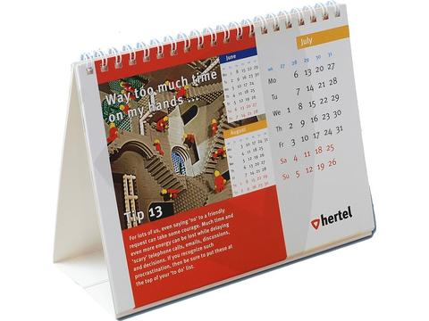 Bureau Calendar Wire'O