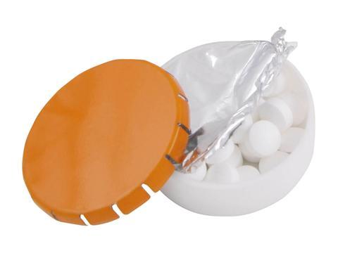 Super round plastic container