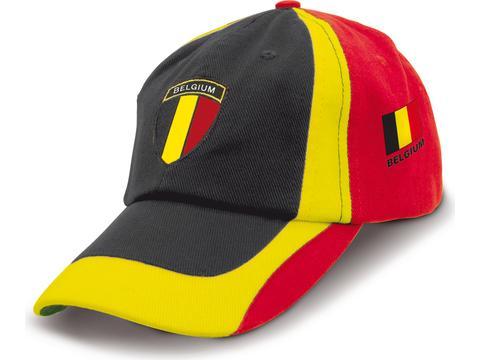 Custom made football fan cap