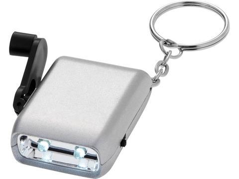 Lampe dynamo porte-clés