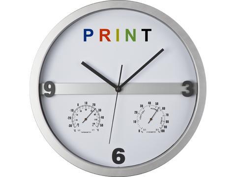Horloge avec thermometre