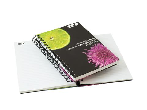 Hardcover notitieboek Wire-o A4
