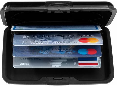 Houder voor 12 kredietkaarten