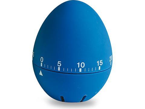 Egg shaped kitchen timer