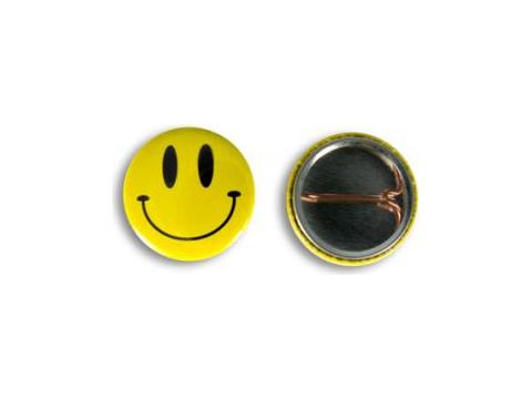 Metalen buttons 25 mm