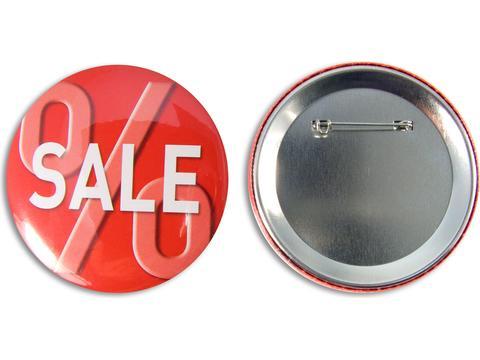 Metalen Buttons 75 mm