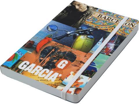 Softcover Notitieboek A4 met elastiek sluiting