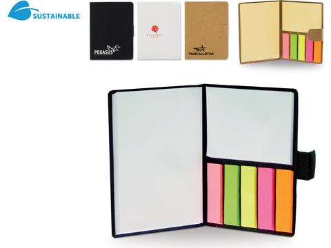 Eco Notebook met Sticky Notes