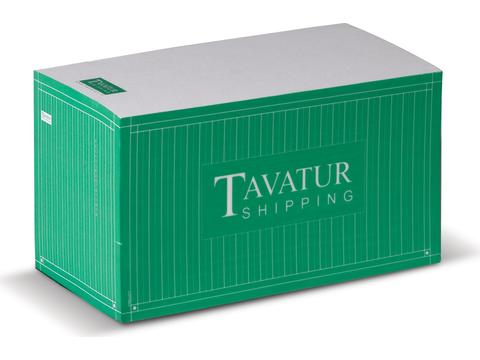 Papierblok container