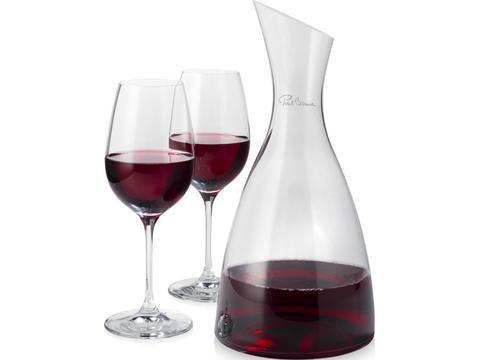 Prestige decanter with 2 glasses