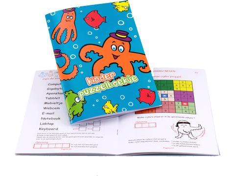 Puzzelboek voor kinderen