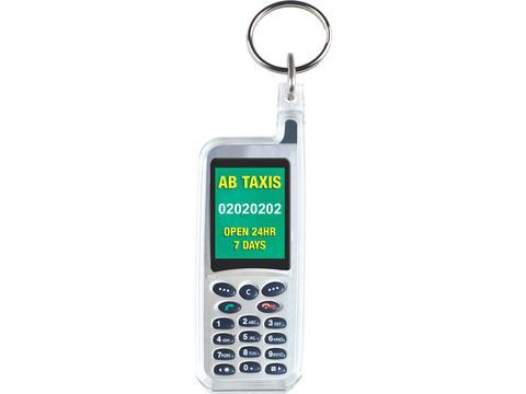 Sleutelhanger in vorm telefoon