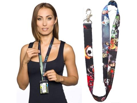 SoftFeel Sublimatie lanyards 25 mm