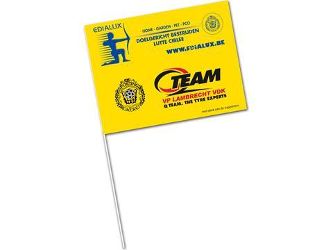 Supportersvlaggen - papier
