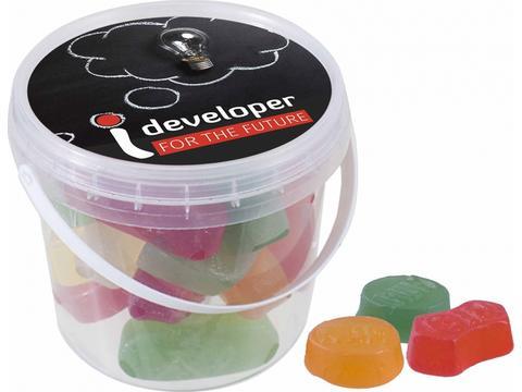 Mini bucket Winegums