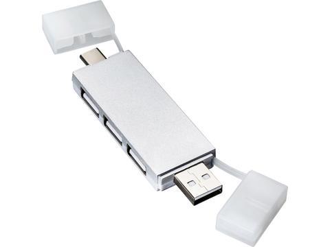 Mini USB & USB-C hub