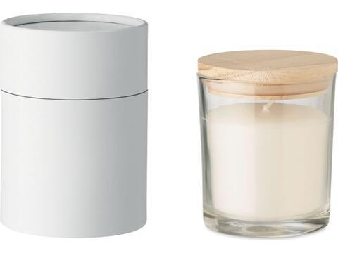 Vanilla fragranced candle Medium